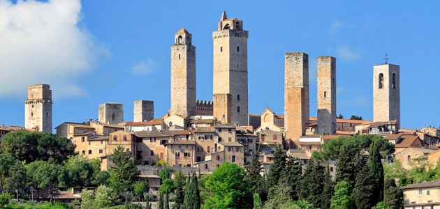 The Rognosa  tower – San Gimignano (SI)