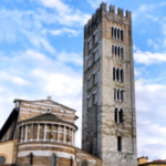 The San Frediano bell tower - Lucca